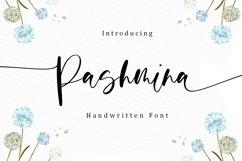 Pashmina - Handwritten Font Product Image 1
