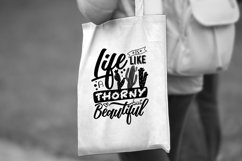 Life is like a cactus... - Vector Typography Design Product Image 4
