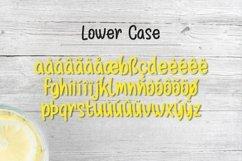 Web Font Lemon Drizzle Product Image 3