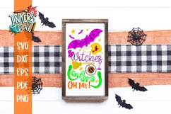 Vampires Witches and Ghosts OH MY Halloween SVG Cut File Product Image 1