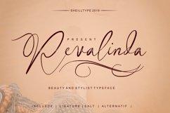 Revalinda Stylist Scripts font Product Image 1