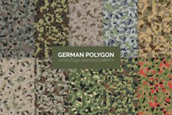 German Polygon Camouflage Patterns Product Image 1