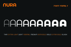Nura - Variable Font Product Image 3