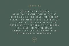 Qualey - Elegant Serif Font Product Image 5