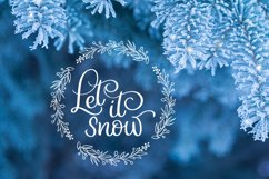 Merry Christmas Quotes and Objects Calligraphy Collection Product Image 6