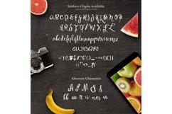 Sobbers Typeface + Swashes Product Image 5