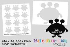 Monster SVG shape Product Image 1