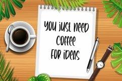 Web Font Plaster Board - Cool Handwritten Font Product Image 5