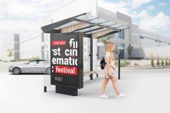 Bus Stop Lightbox Mockup Product Image 2