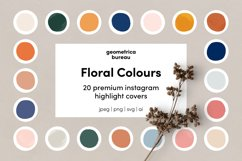 Instagram Highlight Covers Floral Colours Product Image 1