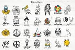 Hippie SVG Bundle | Peace SVG Bundle Product Image 2