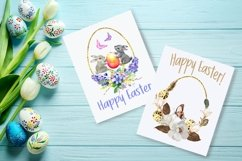 Watercolor Easter arangaments, Easter cards for printable Product Image 5
