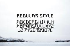 Asian font / japanese style / handmade font. Product Image 3
