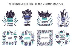 Potted Plants - Vector Collection Product Image 4