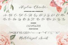 Algeline a Romantic Script Font Product Image 8