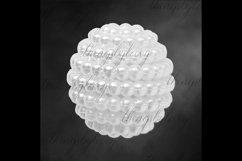 100 Pearl Pomander Digital Clip Art Jewelry Pearl Ball Image Product Image 5