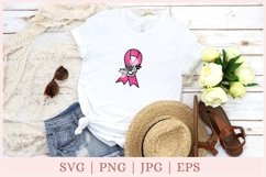 Awareness Ribbon SVG, Breast Cancer svg, ribbon clipart Product Image 2