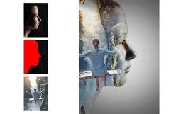 Double Exposure Photoshop Action Product Image 6