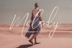 Melody SVG Script Font Product Image 1