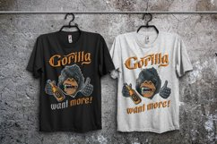 Gorilla beer - gothic typeface Product Image 5