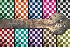 Dirty Checkers Digital Papers Product Image 1