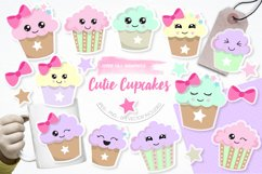 Cutie Cupcakes graphics and illustrations Product Image 1