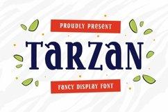 Web Font Tarzan - Display Font Product Image 1