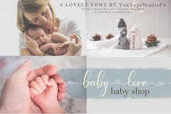 fabella flower a lovely font Product Image 4