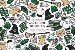 Wizarding Doodle Cliparts Product Image 1