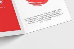 Bi-Fold Half Letter Brochure Mock-up Product Image 6