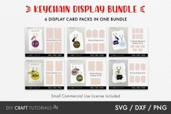 Keyring Display Card Svg BUNDLE, Packaging SVG, Keychain SVG Product Image 1