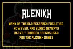 Alenikh Esports Font Logo Product Image 2