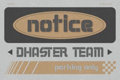 Dhaster Typeface Product Image 4