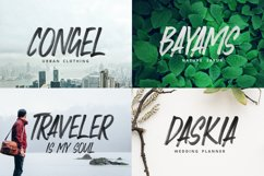 Faceback - SVG Brush Font Product Image 3