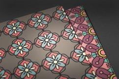 Colorful Mandalas Seamless Pattern Pack Product Image 2