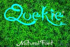 QUEKIE Natural Font Product Image 1