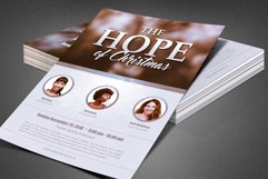 The Hope of Christmas Church Flyer Product Image 2