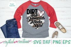Dirt and Diamonds Kinda Girl SVG, DXF, PNG, EPS Product Image 2