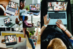 18 Laptops Video Call Mockup Product Image 3