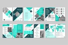 Brochure template concept creative design. Product Image 1