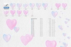 Romantic hearts- bubbles Product Image 2