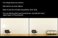Wall art mockup V4 Product Image 5