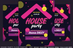 House Party Flyer Poster Product Image 1