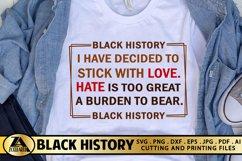 Black Lives Matter SVG Black History SVG Black Woman SVG Product Image 1