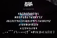 Motion Therapy   Handwritten Brush Font Product Image 2