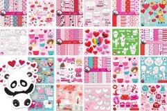 Valentine illustrations bundle - Baby Sublimation designs Product Image 4