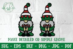 3D Christmas Gnome Bundle, Layered Gnome, 3D Gnome SVG, DXF Product Image 5
