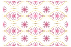 Vintage Floral Seamless Pattern 01 Product Image 2