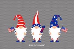 4th of July Gnomes svg, Patriotic Gnomes svg, gnomes svg Product Image 6