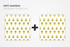 Avocado Seamless Patterns Product Image 3